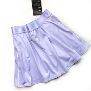 New NIKE - Tennis Skirt With Shorts Light Purple